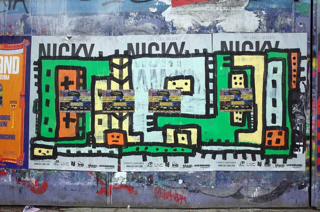 Nicky . Follow @streettypographer . Urban Typography    Photographer Noord Amsterdams Nieuwsblad    Amsterdam Utrecht Genova    Ricoh GR   Huawei Leica    DM for collaboration